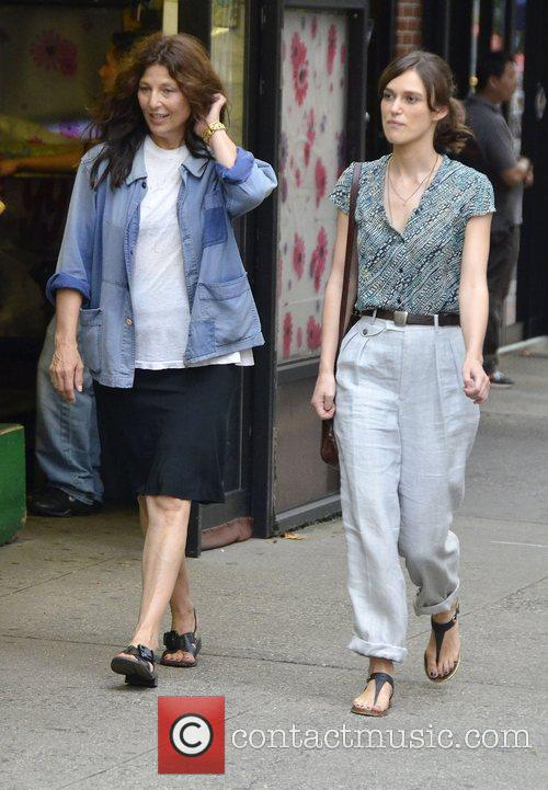 Keira Knightley and Catherine Keener 4