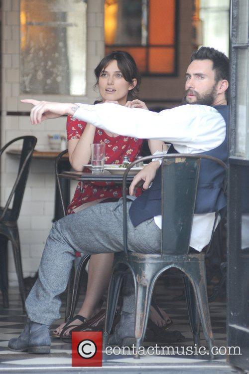 Keira Knightley and Adam Levine 3