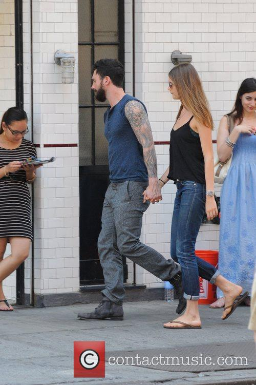 Adam Levine and Behati Prinsloo 3