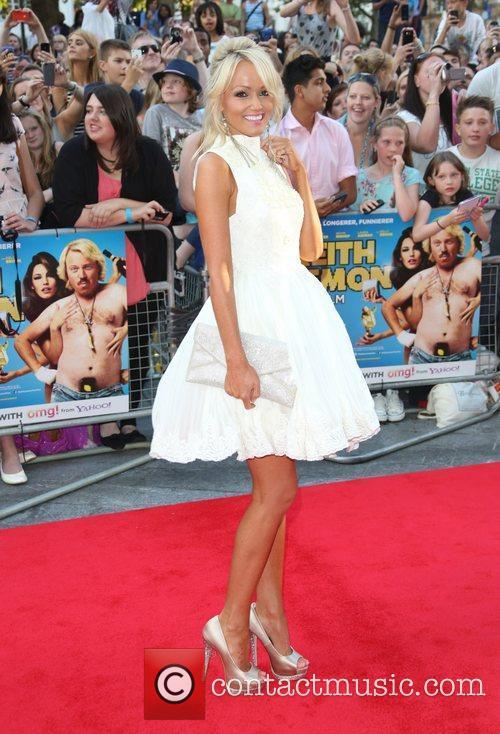 Hayley Roberts The World premiere of Keith Lemon...