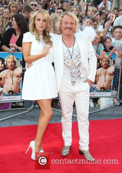 Rosie Parker and Keith Lemon aka Leigh Francis...