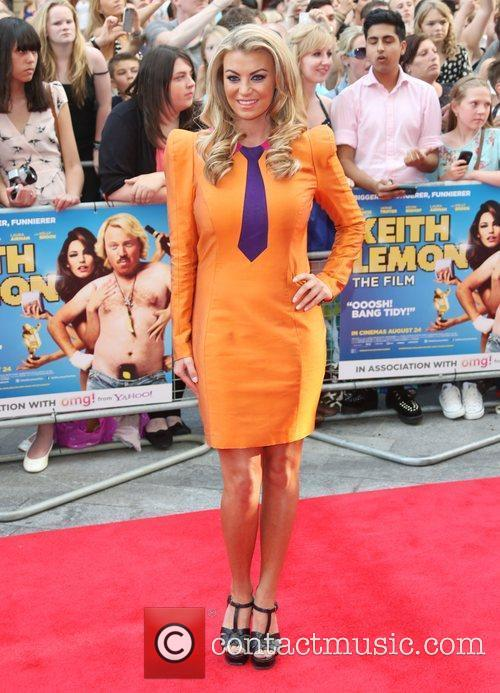 Billi Mucklow The World premiere of Keith Lemon...