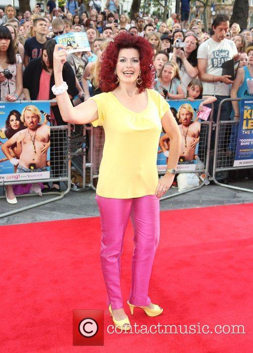 Cleo Rocos The World premiere of Keith Lemon...