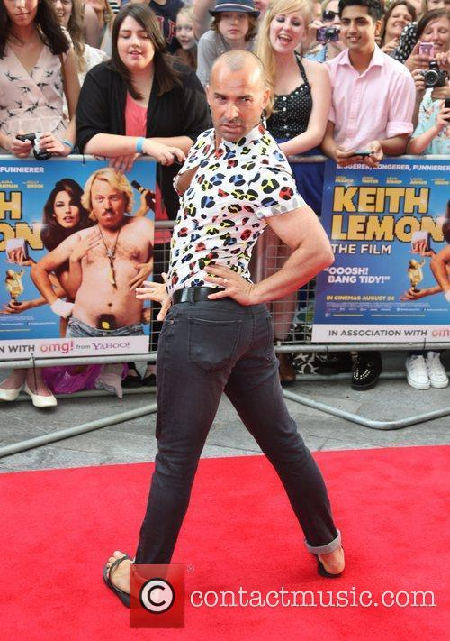Louie Spence and Odeon West End 3
