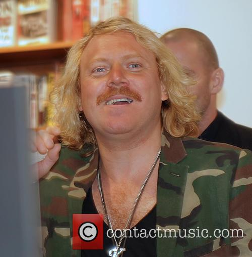 Keith Lemon signs copies of his book 'Being...