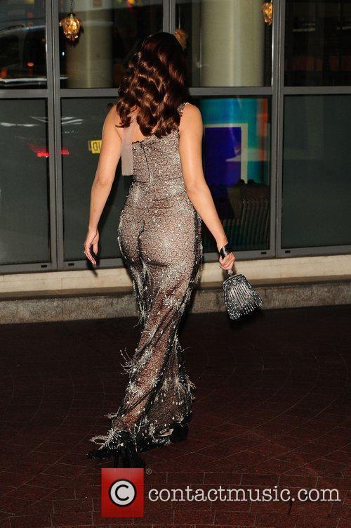 Kelly Brook leaving a hotel in London London,...