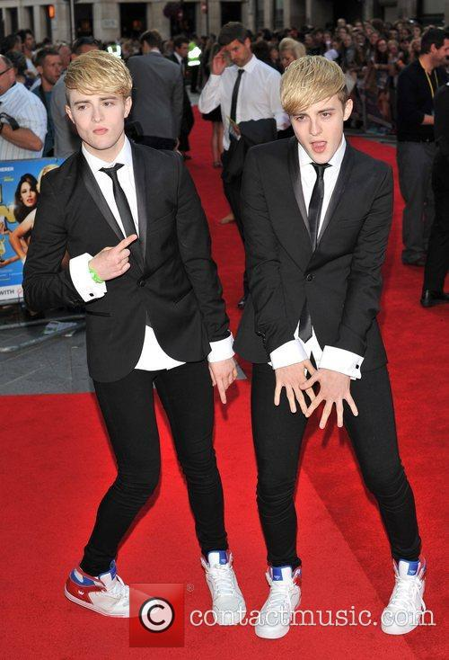 Jedward and Odeon West End 4