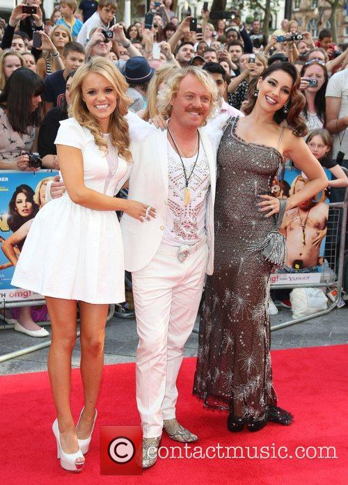 Rosie Parker, Keith Lemon aka Leigh Francis and...