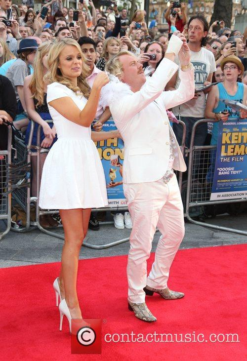 Leigh Francis and Kelly Brook 6