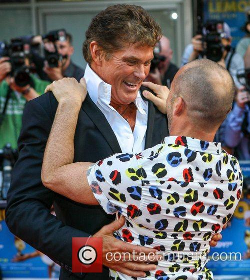 David Hasselhoff and Louie Spence 5