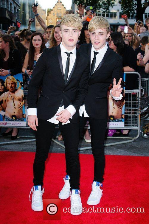 Jedward and Odeon West End 2