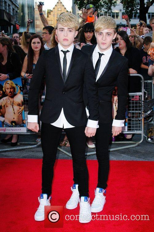 Jedward and Odeon West End 3