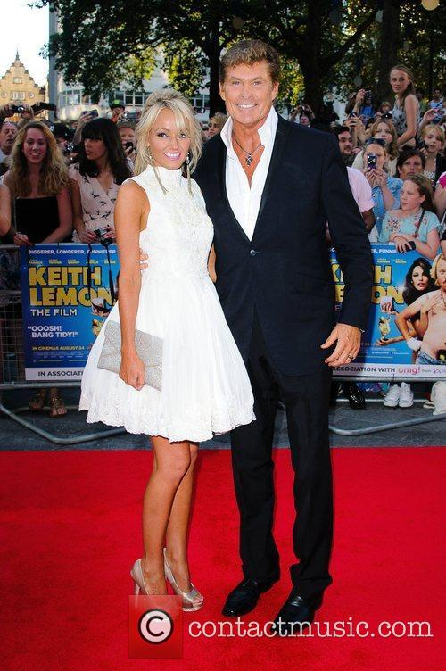 Hayley Roberts and David Hasselhoff 'Keith Lemon the...