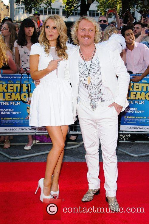 Rosie Parker and Leigh Francis aka Keith Lemon...