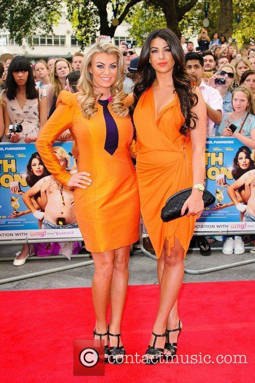 Billi Mucklow and Cara Kilbey 'Keith Lemon the...