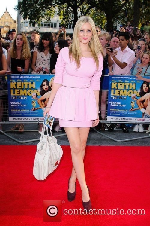 Laura Whitmore 'Keith Lemon the Film' World premiere...