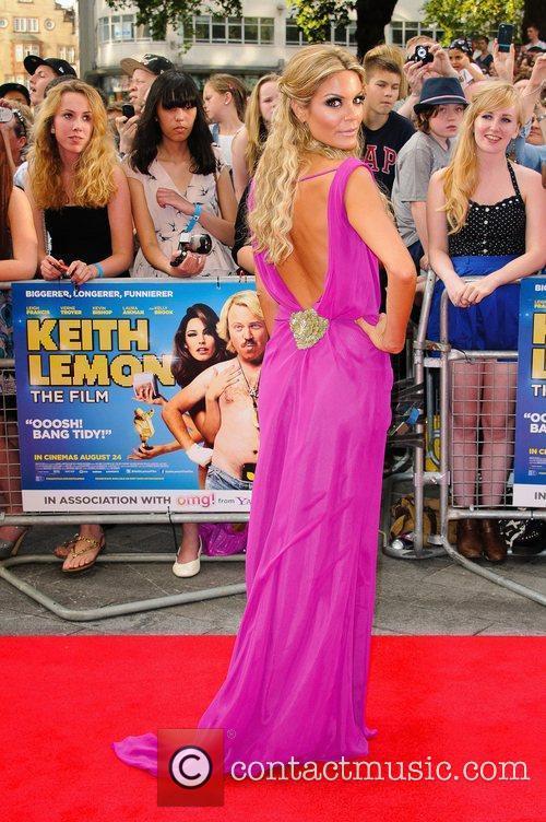 Charlotte Jackson 'Keith Lemon the Film' World premiere...