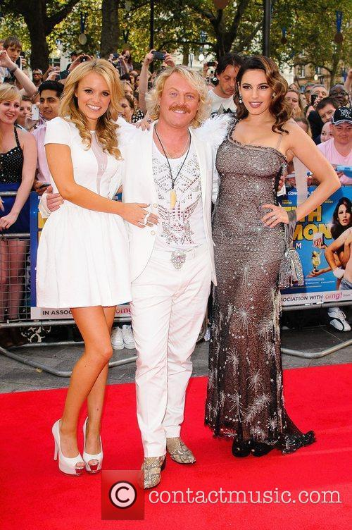 Rosie Parker, Leigh Francis aka Keith Lemon and...