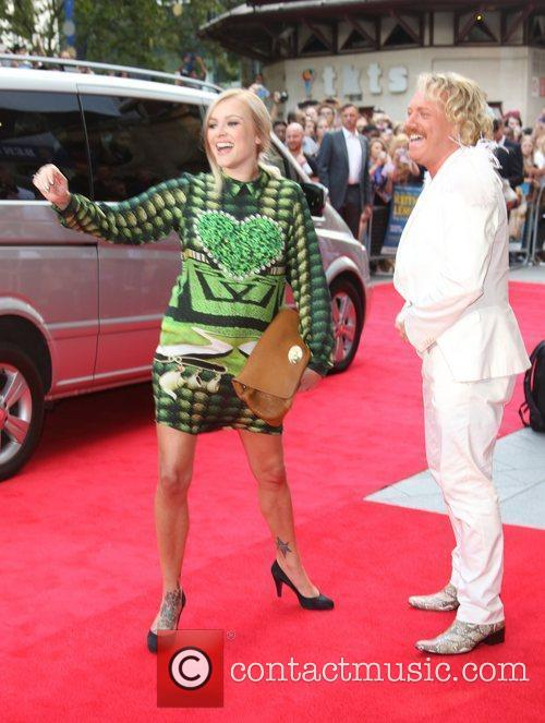 Fearne Cotton and Keith Lemon The World premiere...