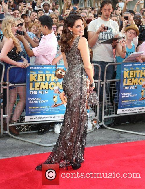 Kelly Brook The World premiere of Keith Lemon...