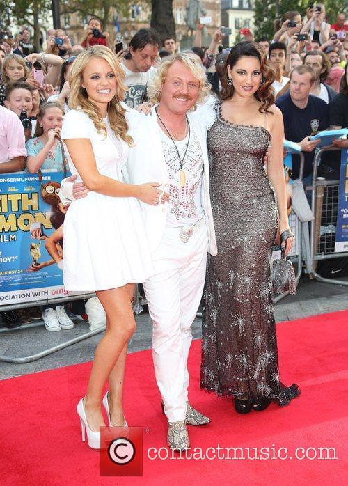 Rosie Parker, Kelly Brook and Keith Lemon The...