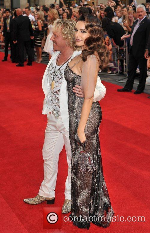 Leigh Francis, Kelly Brook and Odeon West End 11