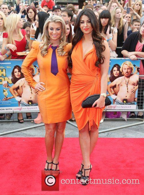 Billie Mucklow and Cara Kilbey The World premiere...