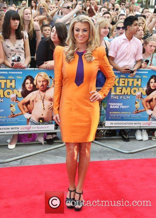 Billie Mucklow The World premiere of Keith Lemon...