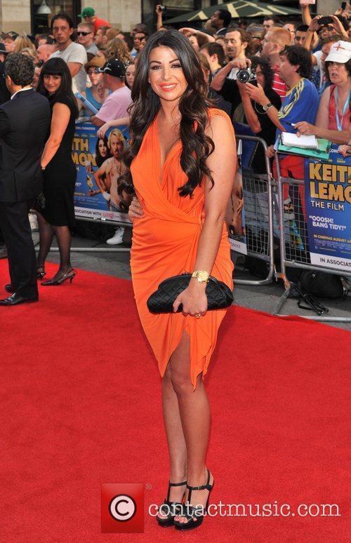 Cara Kilbey 'Keith Lemon the Film' World premiere...