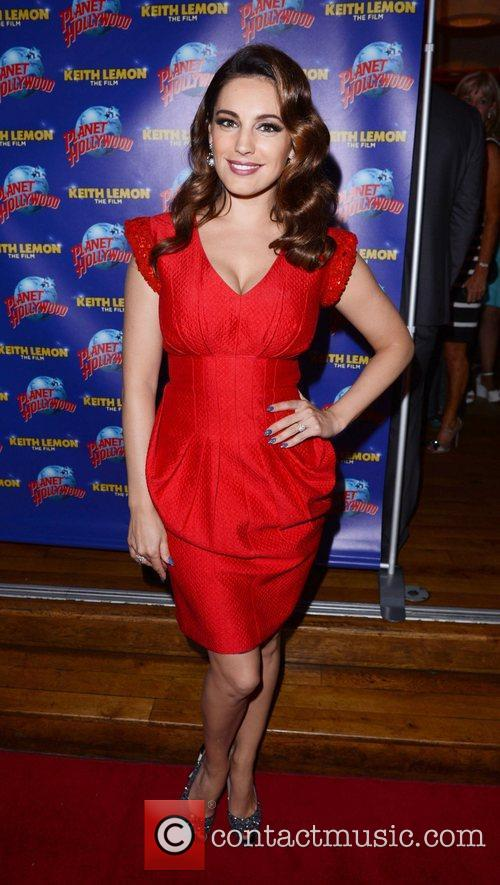 Kelly Brook and Planet Hollywood 2