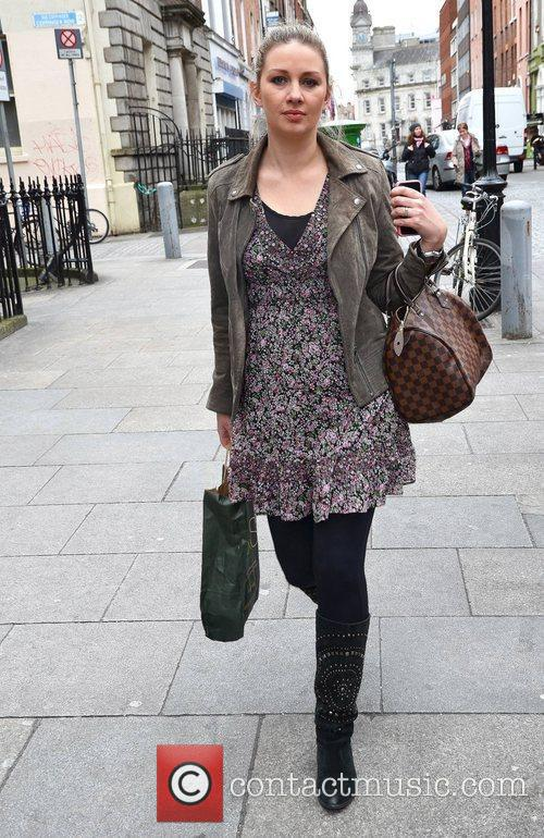 New mom and Ireland AM presenter Anna Daly...