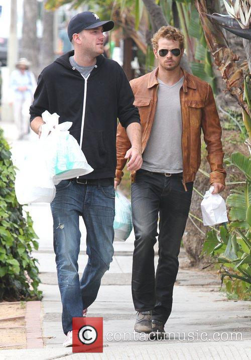Out with his brother in Venice Beach