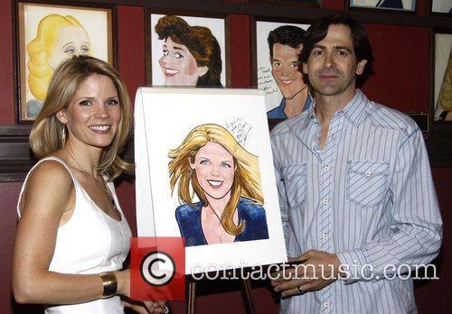 Kelli O'Hara and Greg Naughton  Sardi's Portrait...