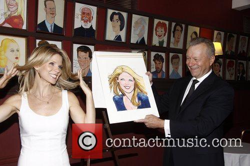 Kelli O'Hara and Max Klimavicius  Sardi's Portrait...