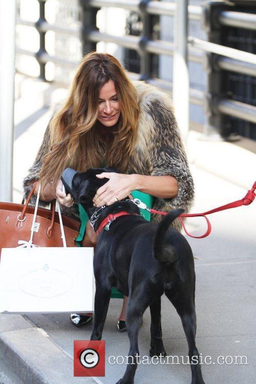 Real Housewives of New York actress Kelly Bensimon...