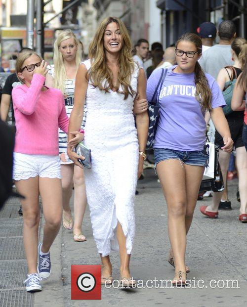 Kelly Bensimon and her two daughters Sea Louise...