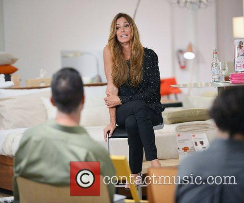 Kelly Bensimon  greets fans and signs copies...