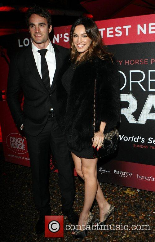 Kelly Brook and Cabaret Club 10