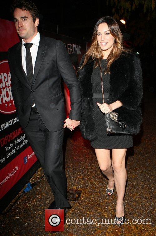 Kelly Brook and Cabaret Club 6
