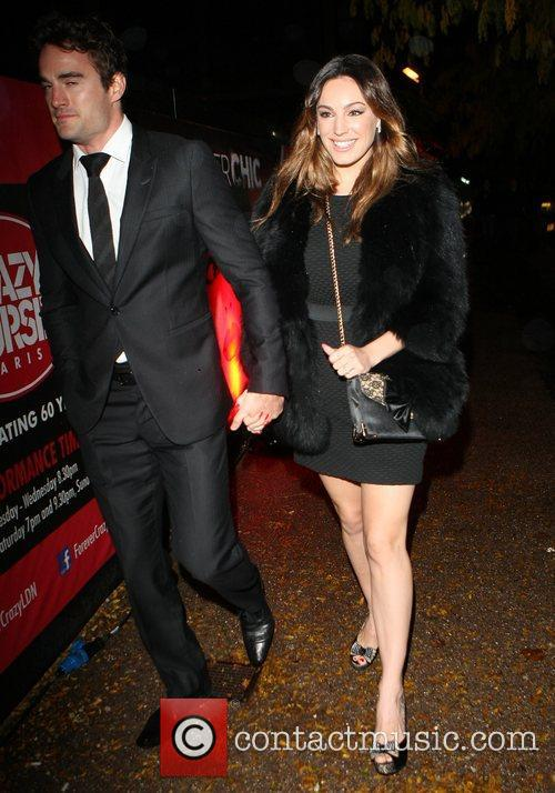 Kelly Brook and Cabaret Club 5