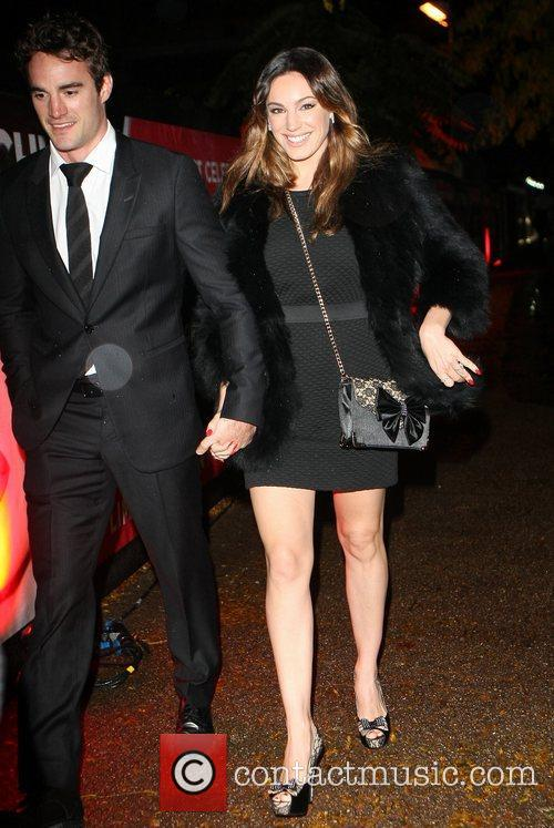 Kelly Brook and Cabaret Club 9