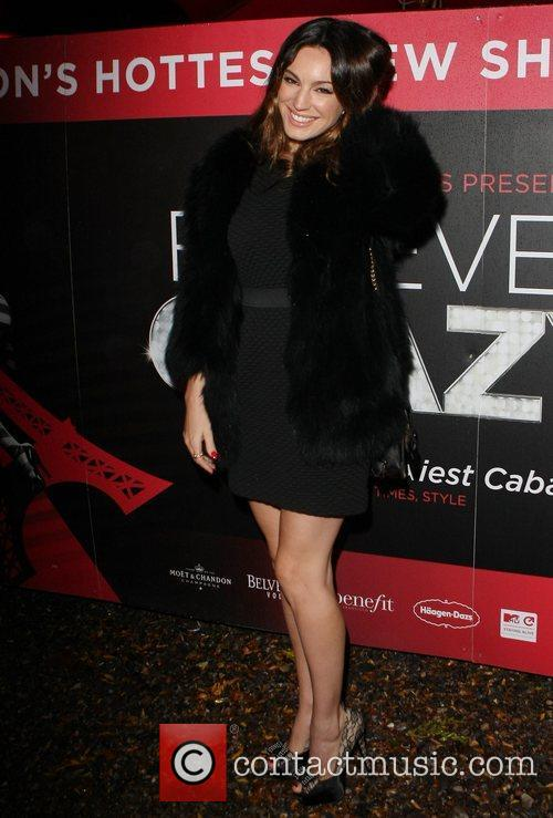 Kelly Brook and Cabaret Club 7
