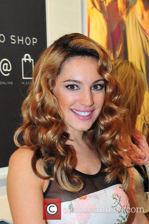 TV presenter and film star Kelly Brook opens...