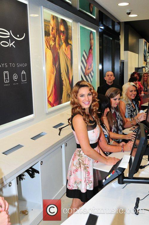 Kelly Brook and New Look 20