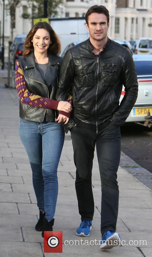 Kelly Brook, Thom Evans, London and England 3