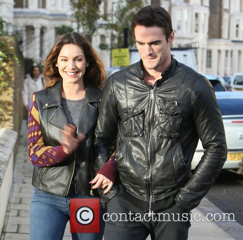 Kelly Brook, Thom Evans, London and England 4