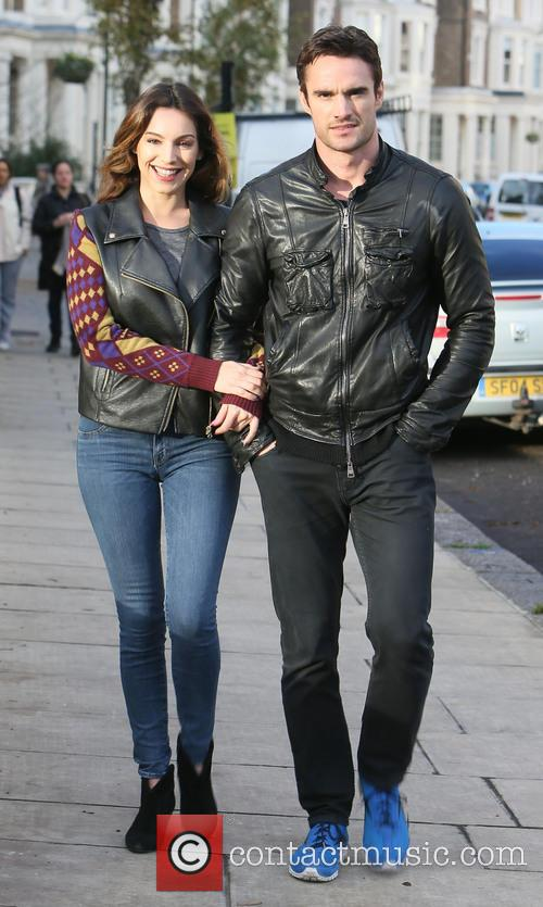 Kelly Brook, Thom Evans, London and England 1
