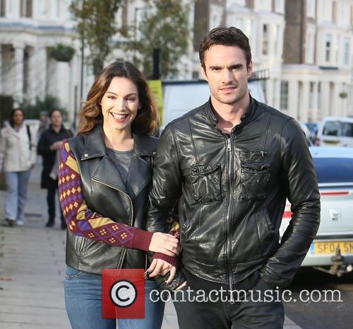 Kelly Brook, Thom Evans, London and England 5