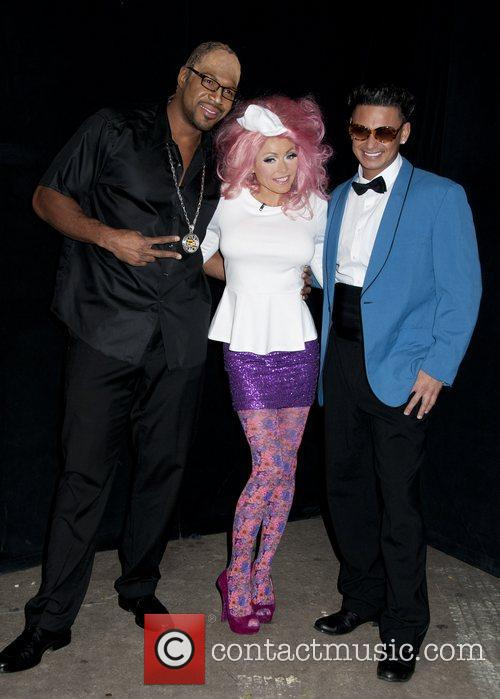 Kelly Ripa, Michael Strahan, Paul and Pauly D 6