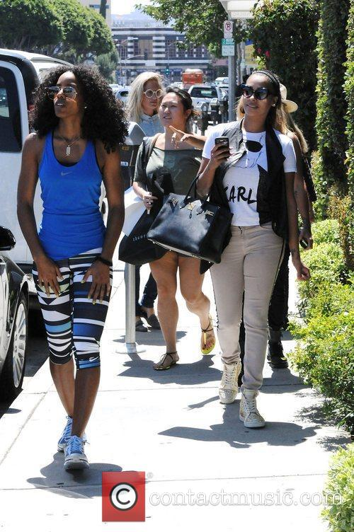 Kelly Rowland and Lala Vasquez 41